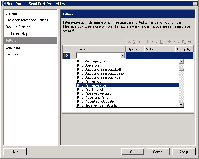 BizTalk_SendPort_Common_Filters