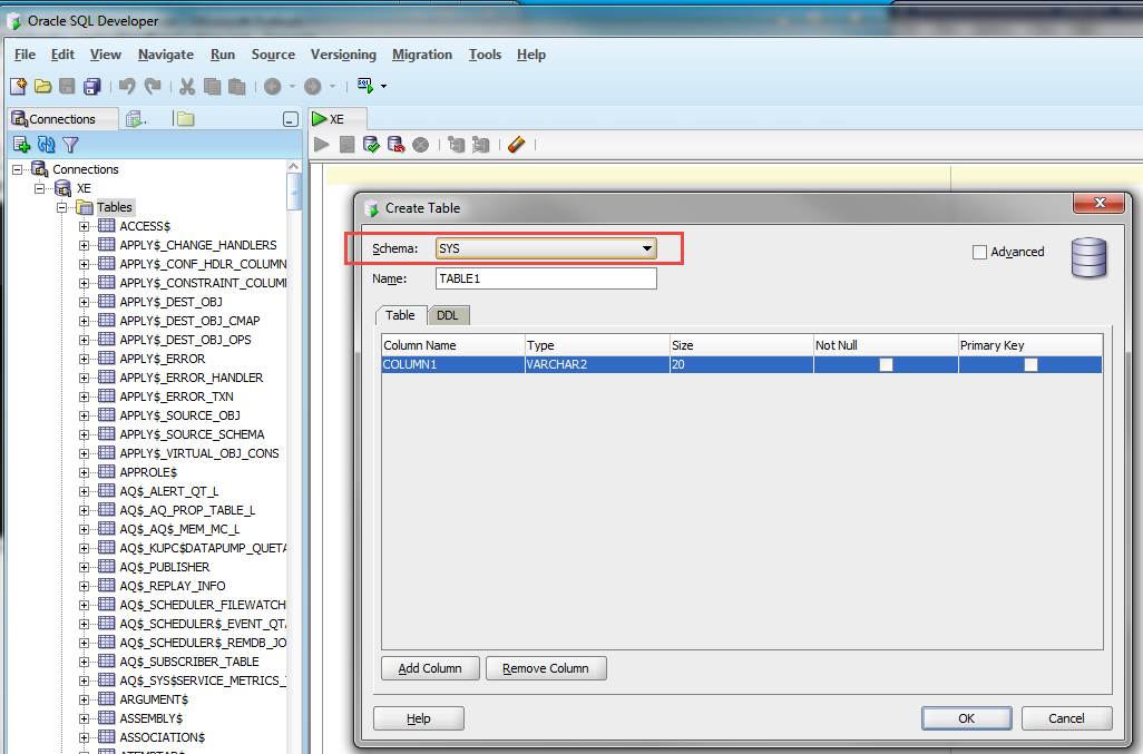 Intro to oracle sql for sql server developers and dbas part 1 - Create table in oracle sql developer ...