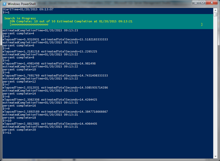 write host powershell