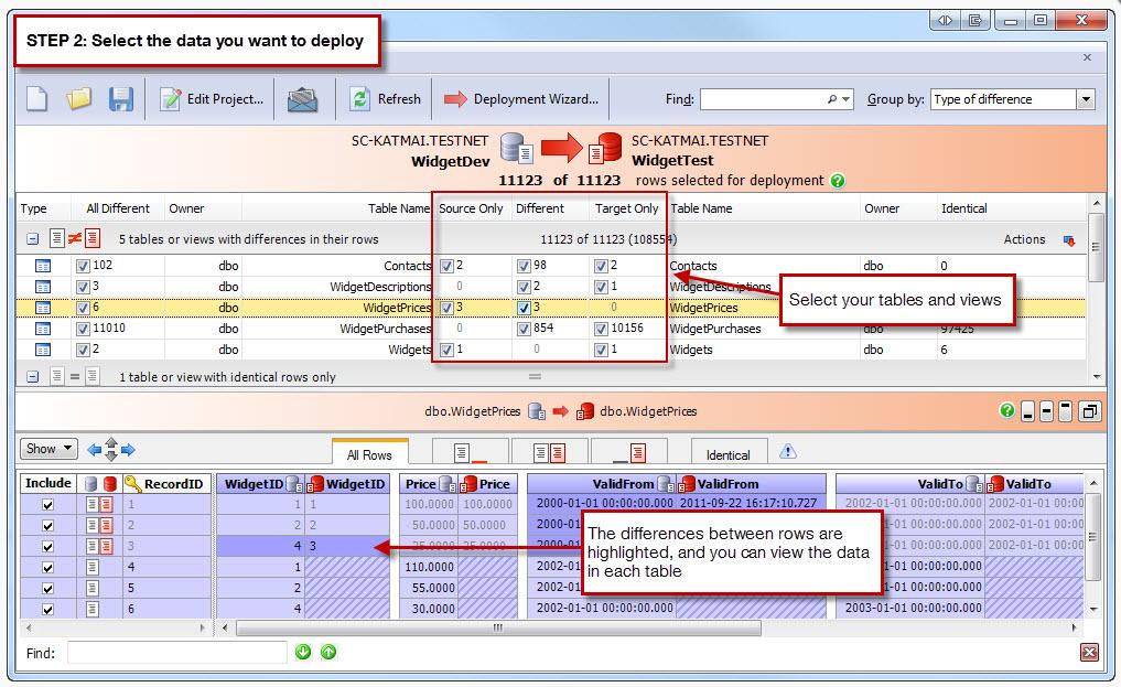 Generate SQL Insert Statements (to Transfer Data)