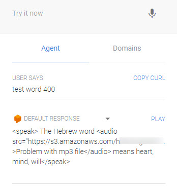 Testing SSML on Alexa vs Google Home/DialogFlow